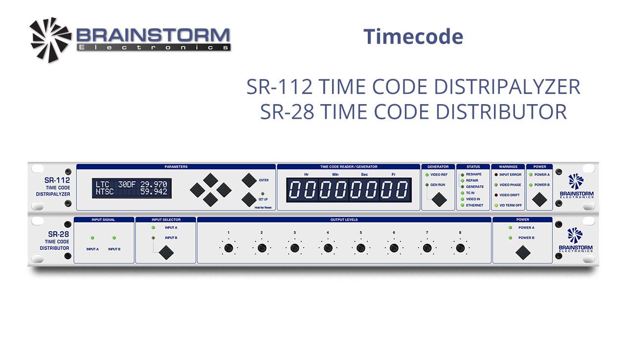 Timecode SR-112 SR-28