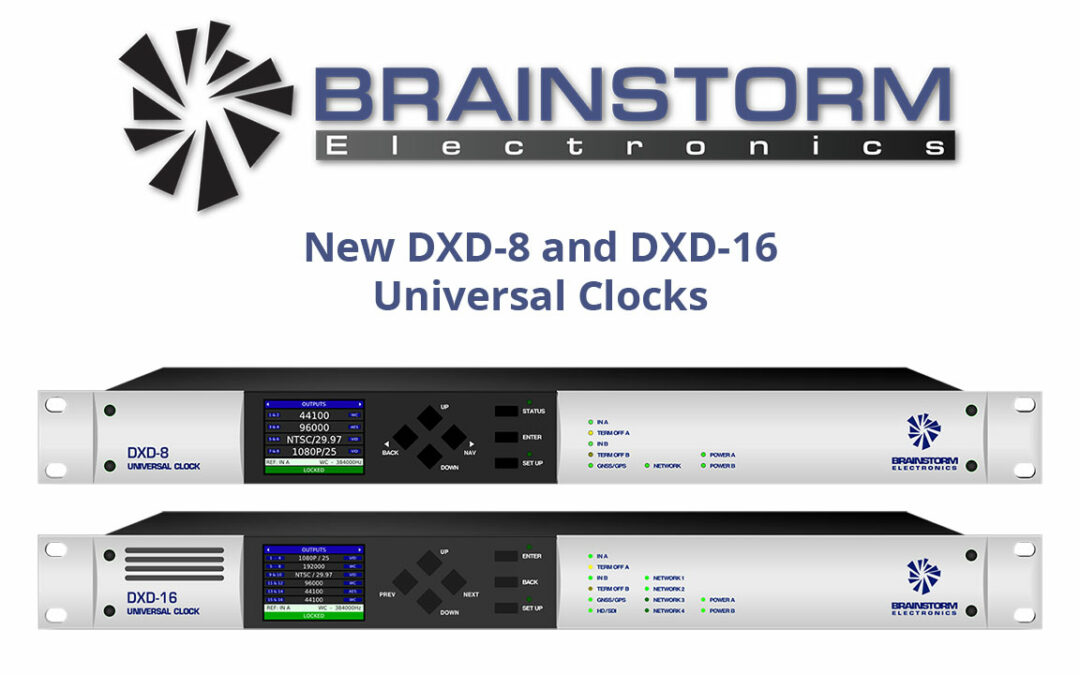 DXD Firmware Updates Adds New PTP, GPS and LTC Features