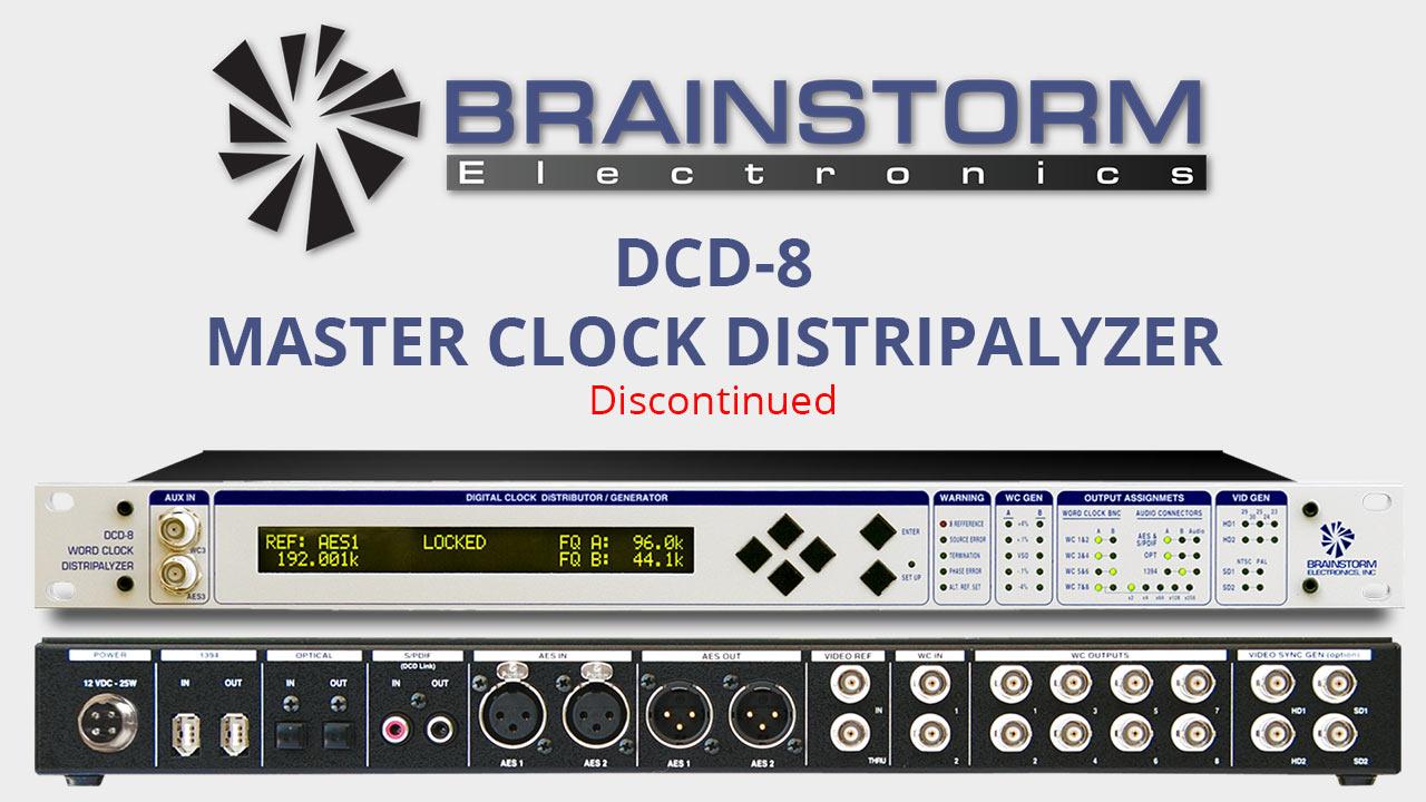 DCD-8 Master Clock Distripalyzer
