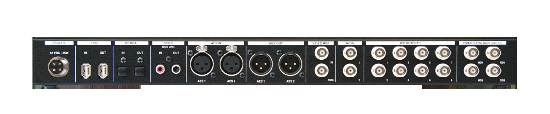 DCD-8 Rear Panel