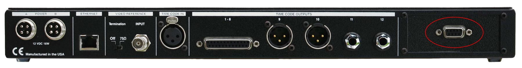 SP/SR112 Serial Port Option