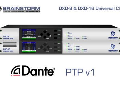 DXD-8 & DXD-16 Dante PTP v1